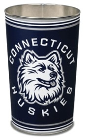 Connecticut Huskies Wastebasket