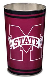 Mississippi State Bulldogs Wastebasket