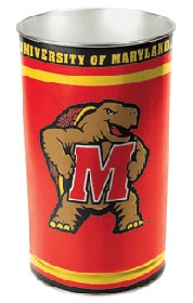 Maryland Terrapins Wastebasket