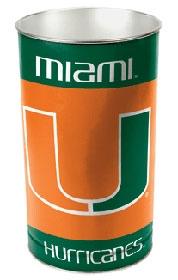 Miami Hurricanes Wastebasket