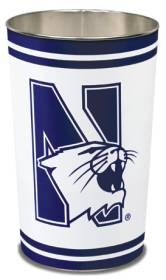 Northwestern Wildcats Wastebasket