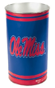 Mississippi Rebels Wastebasket
