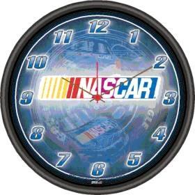 Nascar Racing Round Clock