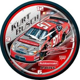 Kurt Busch Round Clock