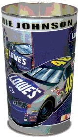 Jimmie Johnson Wastebasket