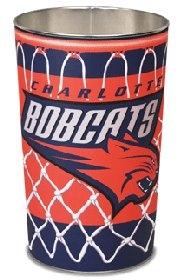 Charlotte Bobcats Wastebasket