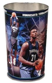 Minnesota Timberwolves Kevin Garnett Wastebasket