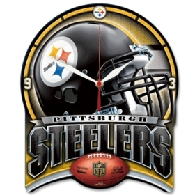 Pittsburgh Steelers High Definition Clock