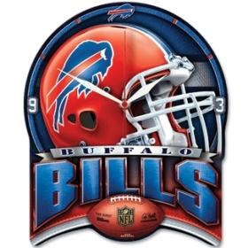 Buffalo Bills High Definition Clock