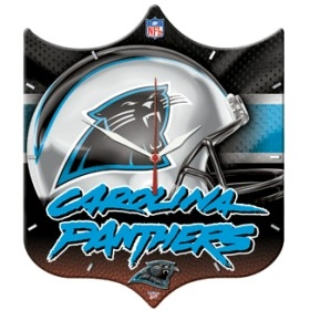 Carolina Panthers High Definition Clock
