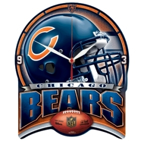Chicago Bears High Definition Clock