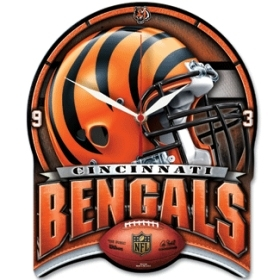 Cincinnati Bengals High Definition Clock