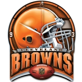Cleveland Browns High Definition Clock