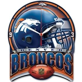 Denver Broncos High Definition Clock