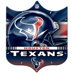 Houston Texans High Definition Clock