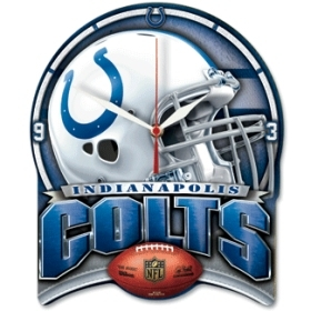 Indianapolis Colts High Definition Clock