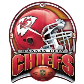 Kansas City Chiefs High Definition Clock