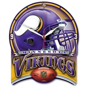 Minnesota Vikings High Definition Clock
