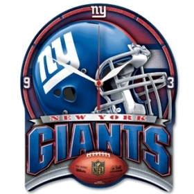 New York Giants High Definition Clock