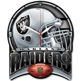 Oakland Raiders High Definition Clock