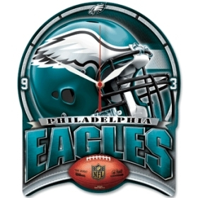 Philadelphia Eagles High Definition Clock