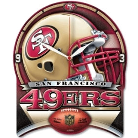 San Francisco 49ers High Definition Clock