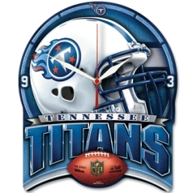 Tennessee Titans High Definition Clock