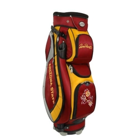 Arizona State Sun Devils Letterman's Club II Cooler Cart Golf Bag