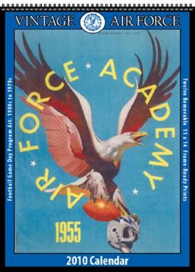 Air Force Falcons 2010 Vintage Football Program Calendar
