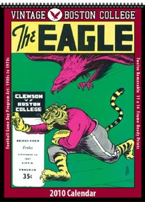 Boston College Eagles 2010 Vintage Football Program Calendar