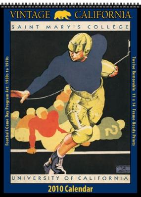 California Golden Bears 2010 Vintage Football Program Calendar