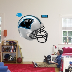 Carolina Panthers Helmet Fathead