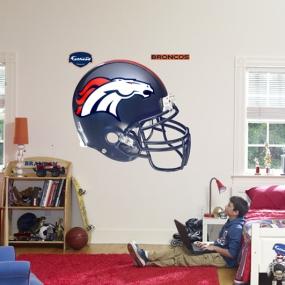 Denver Broncos Helmet Fathead