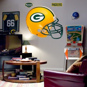Green Bay Packers Helmet Fathead