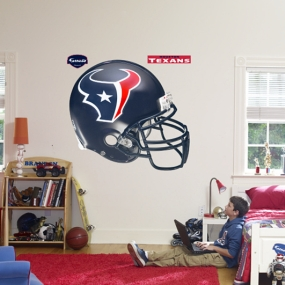 Houston Texans Helmet Fathead