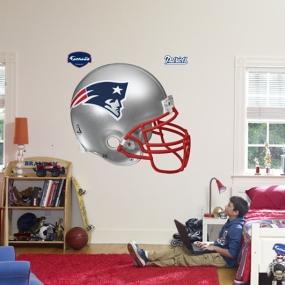 New England Patriots Helmet Fathead