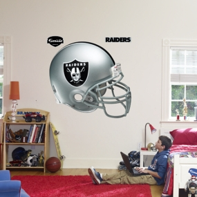 Oakland Raiders Helmet Fathead
