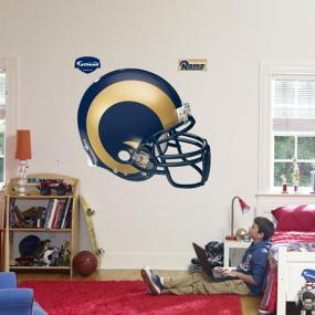 St. Louis Rams Helmet Fathead