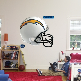 San Diego Chargers Helmet Fathead