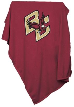 Boston College Sweatshirt Blanket
