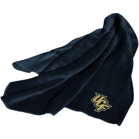 UCF Golden Knights Fleece Throw Blanket