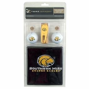 Southern Miss Golden Eagles Golf Gift Set