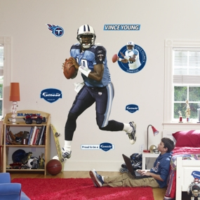 Vince Young on Target Fathead