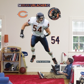 Brian Urlacher - Monster of the Midway Fathead