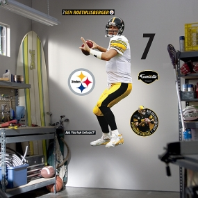 Ben Roethlisberger - Looking Deep Fathead