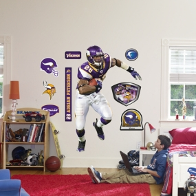 Adrian Peterson Running Back Fathead
