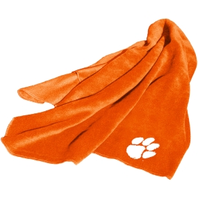 Clemson Tigers Fleece Throw Blanket