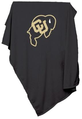 Colorado Buffaloes Sweatshirt Blanket