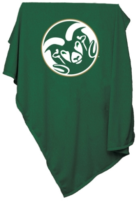 Colorado State Rams Sweatshirt Blanket