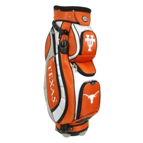Texas Longhorns Letterman's Club II Cooler Cart Golf Bag